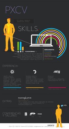 Infographics - CV - Miguel Naranjo