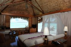 Le Taha'a Island Resort & Spa Overwater Suite
