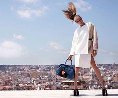 Cara stuns Fendi's new Roman Skyline AW13 campaign