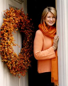 Martha Martha...Love the wreath!