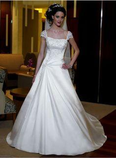 wedding dresses wedding dresses with straps lace wedding dresses kate middleton a-line beading short sleeve sweetheart empire floor-length wedding dresses we1418