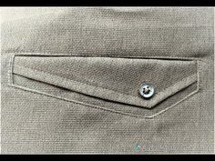 I will show how welt pocket make in any shape u want. I will make many difference shapes welt pocket but i will show one of them. Thank you for watching Plea. Fashion Details, Diy Fashion, Mens Fashion, Techniques Couture, Sewing Techniques, Sewing Pockets, Nigerian Men Fashion, Sewing Pants, Designer Suits For Men