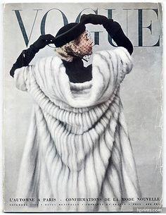 Vogue (Paris) 1950 Novembre, Photo Irving Penn, Jacques Fath, Tom Keogh, Colette, Associated Haute Couture Fabrics