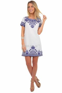 SHOP BY :: Brand :: St. Frock :: PRE ORDER Last Romantic Shift Dress *Delivery date approx APRIL -