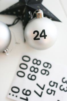 Christmas advent, special dates, number of family members...