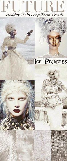 More color trends, white, of white, almost white, snow white, platinum white...