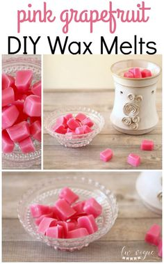 """Fill your home with natural fragrance! Learn how to easily make DIY wax melts to use in a wax warmer.""---Use soy wax. Diy Wax Melts, Scented Wax Melts, Velas Diy, Diy 2019, Candle Making Business, Homemade Candles, Diy Candles Scented, Oil Candles, Candle Wax"