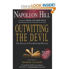 This book has been a secret for a long time. Famed author of Think and Grow Rich, Napolean Hill, penned this book in 1938. It was never published before because his family felt it was too controversial. Napolean discusses seven principles of good that will show you how to triumph over your greatest obstacles. Get this book right here through Amazon. Enjoy.