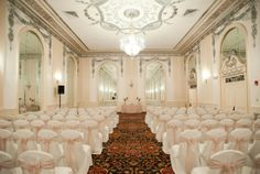 Ivory and champagne wedding, ballroom wedding, Sheraton Read House, Chattanooga  www.whitetable.com
