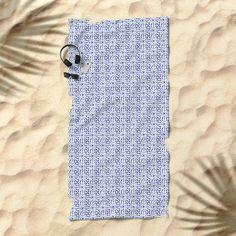 Floic #2 (By Salomon) #towel #beach #apparel #fashion #urban #style #streetstyle #tropical #holydays #pattern #mosaic #mosaico #beach #espana #spain #society6 @society6