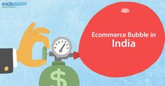 Is eCommerce industry in #India a 'bubble' to burst?   #ECommerce industry has climbed the steep slope of high hill and waiting at the tip. Can it sustain itself or the #eCommercebubble will burst?