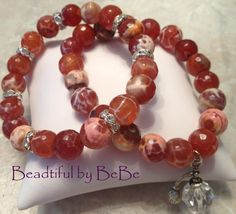 How Sweet The Smell~Perfume charm and agate stones