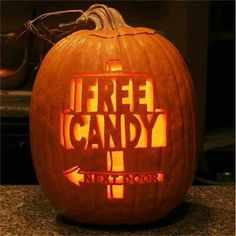 Pumpkin carving idea/joke
