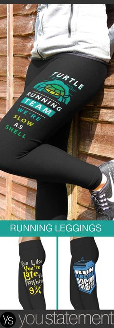 Check out the Running Collection! Awesome Legging Designs to motivate and make you look good! <3