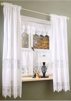 Lindas cenefas y cortinas