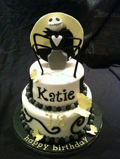 Jack Skeleton Birthday Cake