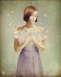Christian Schloe - photos and artworks by Christian Schloe - ARTFLAKES.COM 'He loves me...he loves me not'