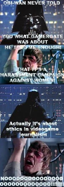 The truth about #Gamergate, told via Star Wars.