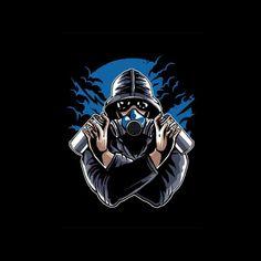 Design Discover Graffiti Gas Mask Mens T-Shirt Logo Desing, Team Logo Design, Mobile Logo, Grafiti, Retro Logos, Professional Logo Design, How To Make Logo, Game Logo, Image Hd