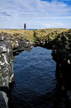 Rocks Bridge, Iceland