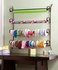 Take a look at this Southern Enterprises Scrolled Magazine Rack by Craft Room Storage Collection on #zulily today!