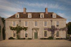 Stone Georgian home in England