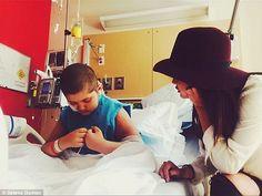 Selena Gomez Visits Children Hospital