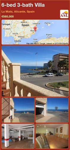 6-bed 3-bath Villa in La Mata, Alicante, Spain ►€585,000 #PropertyForSaleInSpain
