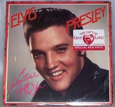 Elvis Presley A Valentine Gift For You LP Red Vinyl Record AFL1-5353 Shrink Wrap #ElvisRockPop