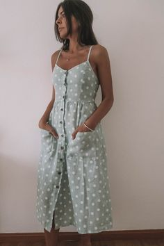 Vestido midi lunares – Azalea Moda Shop