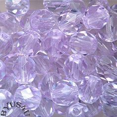 CZECH PRECIOSA GLASS BEADS ROUND FACETED 8mm COLOR CHANGING ALEXANDRITE 40pc 2/6/16