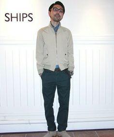 SHIPS 新潟店 伊藤さんのブルゾン「BARACUTA: G-9■(SHIPS シップス)」を使ったコーディネート