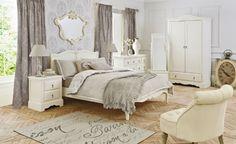shabby grey bedrooms | Interior Shabby Chic Bedroom | Bedroom Decorating Ideas