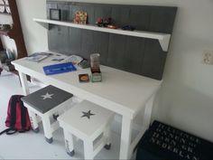 Een stoer bureau van NOEK!wonen