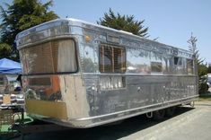 Beautifully Restored 1952 Spartan Royal Manor Trailer- I'm not going to lie I love the squarer feel to these guys I just can't get into the curves of the Airstreams.