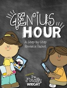 Genius Hour Resource Pack by I'm Finally Wright Inquiry Based Learning, Project Based Learning, Genious Hour, Teaching Tools, Teaching Ideas, What Is Genius, Classroom Calendar, Letter To Parents, Passion Project