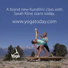 Don't miss out on our brand new classes. This week it's Kundilini with Sarah Kline. Visit us at Yogatoday.com to find inspiration for a healthier you. #yoga #yogatoday #sarahkline #kundilini #tetons #jacksonhole #grandteton