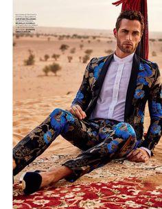 Christian Santamaría para GQ Style Russia Spring/Summer 2016