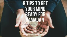 It's the most wonderful time of the year – well almost! Ramadan is around the corner, and we are . Sleep Early, How To Wake Up Early, All We Know, You Got This, Prayers For Direction, Fast Day, Jumping To Conclusions, Listen To Song, Balanced Breakfast