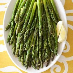 Let seasonal ingredients shine with this simple sautéed asparagus recipe with lemon.