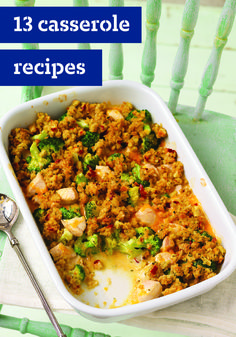 13 Casserole Recipes – Are you a fan of cheesy potatoes? Chicken and rice casserole? Taco casserole? No matter what your flavor preference may be, or what occasion it is, we've got a casserole recipe for you! So, check out our simple-to-make dishes and have your dinnertime menu sorted in no time.