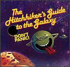 Vintage 1984 Infocom Boxed Game of Hitchhiker's Gide To The Galaxy for Apple II with Contents (See Images) The Hitchhiker, Hitchhikers Guide, Interactive Fiction, Science Fiction, Apple Ii, Douglas Adams, Guide To The Galaxy, Adventure Games, Game Design