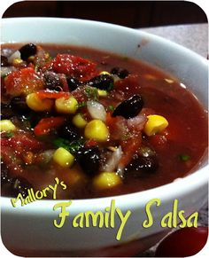Family (Mild) Salsa Recipe Mild Salsa, Homemade Salsa, Salsa Recipe, Bean Salad, Stuffed Jalapeno Peppers, Cherry Tomatoes, Clutter, Spice Things Up, Mexican Food Recipes