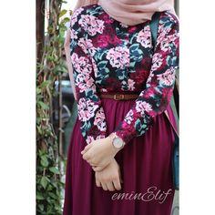 You can find Islamic clothing and more on our website. Iranian Women Fashion, Islamic Fashion, Muslim Fashion, Street Hijab Fashion, Abaya Fashion, Fashion Dresses, Trendy Dresses, Cute Dresses, Hijab Style Dress