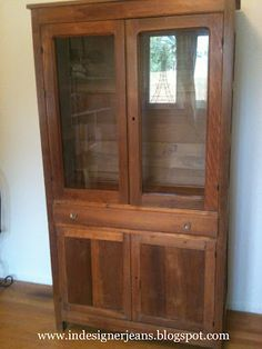 Pending Late 1800 S Antique Oak Pie Safe Cabinet Cupboard