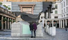 Artist Defies Gravity And Makes Building Appear To Float
