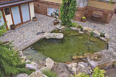 Můj Dům | Zahrada, kde voda spojuje dva světy