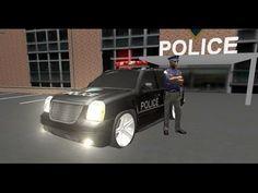 autos de policia para niños ✔ persiguiendo a los malo ✔ juegos de carros...