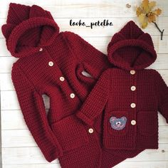 Winter chrochet 2019,chrochet,beaby chrochet,kniting,paterns,pune dore per femije,kapele me grep,fustana me grep,pun dore me krrabza Crochet Baby Jacket, Crochet Baby Hat Patterns, Baby Girl Crochet, Crochet Baby Clothes, Crochet For Boys, Crochet Baby Hats, Crochet Doll Dress, Crochet Coat, Modern Crochet