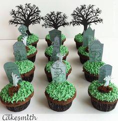 Halloween cupcakes!